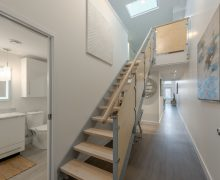 QLofts 302 entry - welcome home